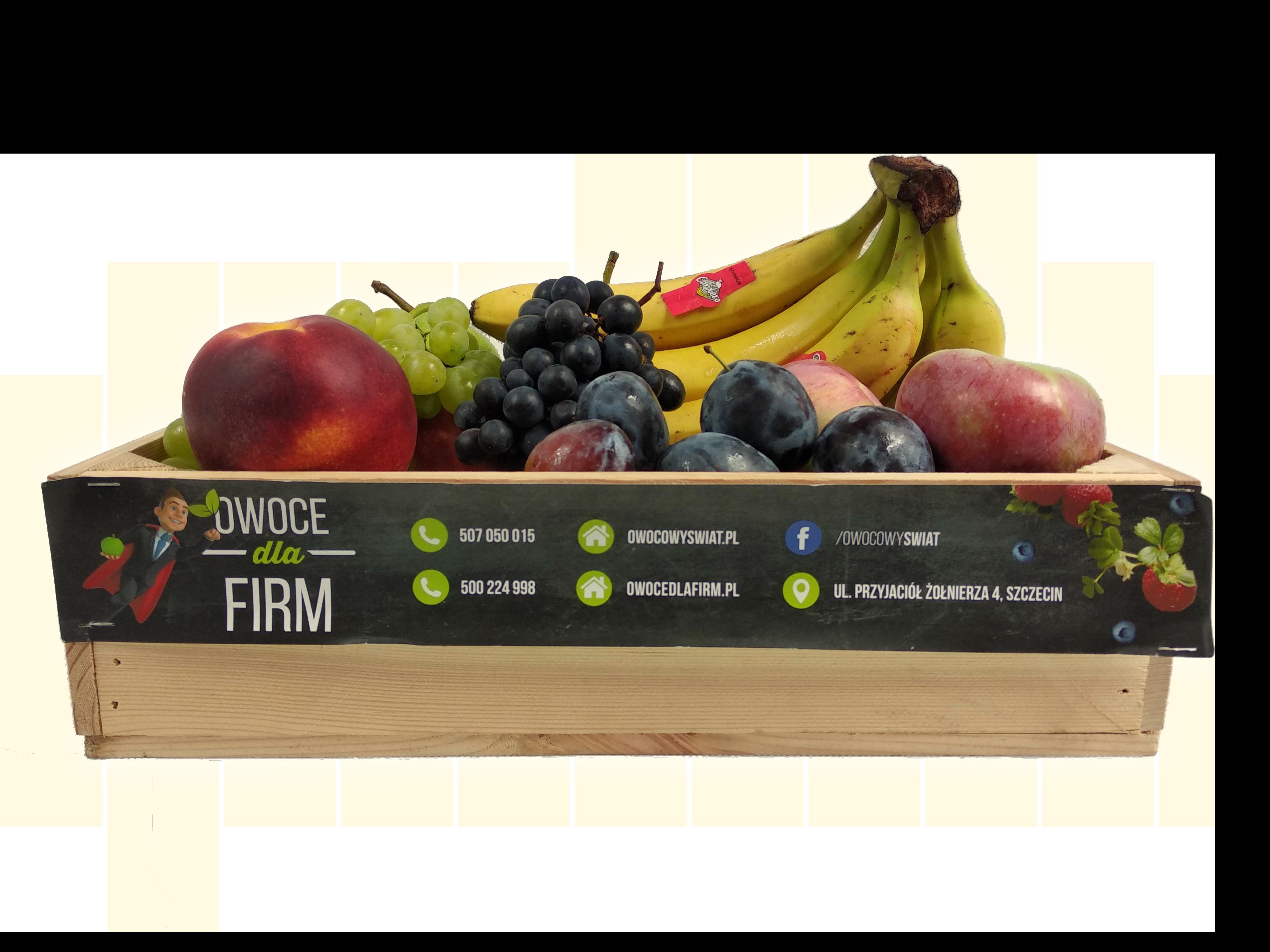 Skrzynka owoców do firmy Szczecin